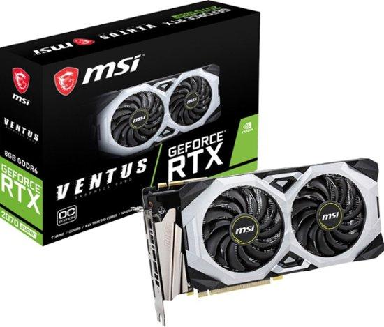 MSI - NVIDIA GeForce RTX 2070 Super 8GB GDDR6