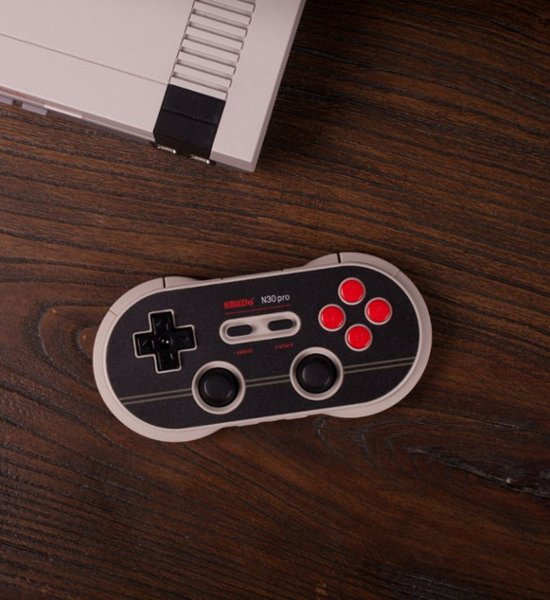 8BitDo - N30 Pro 2 Wireless Controller for PC, Mac, Android