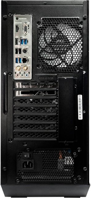 MSI - Aegis ZS Gaming Desktop - AMD Ryzen - 3700X - 16GB Memory - RX 5600XT - 512GB SSD - Black