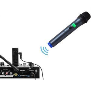 Technical Pro WMU99 Wireless Handheld UHF Mic withUSB Powered Receiver