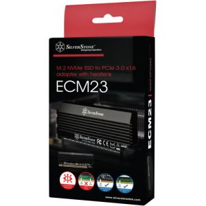 SilverStone ECM23 M.2 Port to PCIe x4 Adapter Card