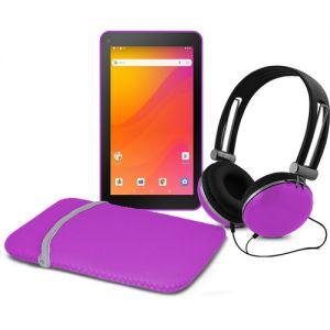 """Ematic 7"""" EGQ378 16GB Tablet Bundle (Wi-Fi,"""