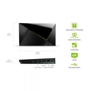 NVIDIA SHIELD Android TV Pro HDR 4K UHD Streaming Media Player