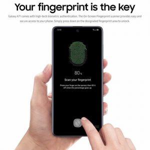Samsung Galaxy A71 SM-A715F Dual-SIM 128GB Smartphone (Unlocked
