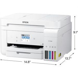 Epson EcoTank ET-4760 All-in-One Supertank Printer (White)