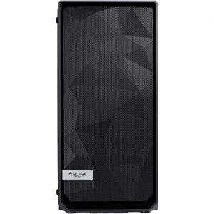 Fractal Design Meshify C Mid-Tower Case (Tempered Glass, Black)