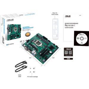 ASUS Pro H410M-C/CSM LGA 1200 Micro-ATX Motherboard