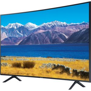 "Samsung TU8300 55"" Class HDR 4K UHD Smart Curved LED TV"