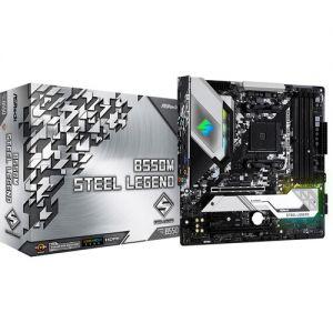 ASRock B550M STEEL LEGEND AMD AM4 Ryzen B550 DDR4 128GB