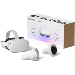 Oculus Quest 2 Advanced All-in-One VR Headset (64GB, White)