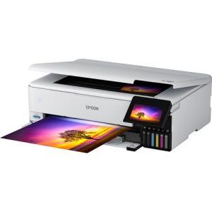 Epson Ecotank ET-8550 All-In-One Printer (White)
