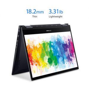 """ASUS 14"""" VivoBook Flip 14 TM420UA Multi-Touch 2-in-1 Laptop (Bespoke Black)"""
