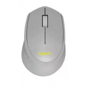 Logitech SILENT PLUS M330 Mouse - Mechanical - Cable