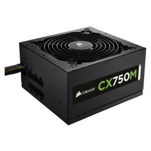 CORSAIR - CX Series Modular CX750M 750W 80 Plus Bronze ATX Power Supply - Black