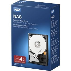 WD - NAS 4TB Internal SATA Hard Drive for Desktops