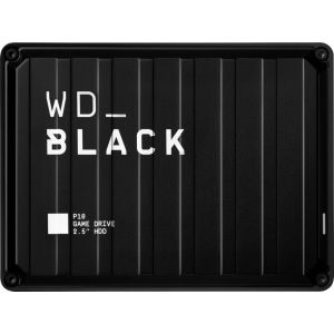 WD - WD_BLACK P10 5TB Game Drive for PlayStation External USB 3.2 Gen 1 Portable Hard Drive - Black
