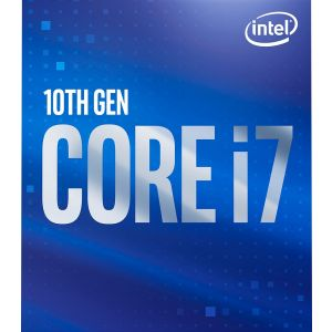 Intel - Core i7-10700 10th Generation 8-Core - 16-Thread 2.9 GHz (4.8 GHz Turbo) Socket LGA1200 Locked Desktop Processor