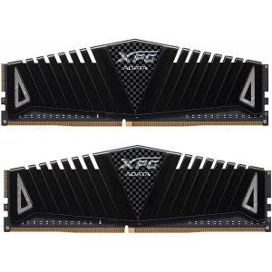 ADATA - XPG Z1 Gaming Memory: 16GB (2x8GB) DDR4 3200MHz CL16 Black - Black