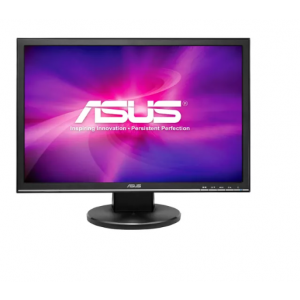 "Asus VW22AT-CSM 22"" WSXGA+ LED LCD Monitor - 16:10 - Black - 1680 x 1050 - 16.7 Million Colors - 250 Nit - 5 ms - 76 Hz Refresh Rate - 2 Speaker(s)"