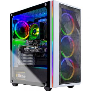 Skytech Gaming - Chronos Gaming Desktop - AMD Ryzen 7 3700X - 16GB Memory - NVIDIA GeForce RTX 2070 SUPER - 1TB SSD - White