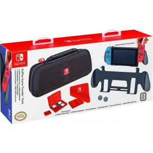 """RDS Industries - 12.2"""" Hard Case for Game Console - Black"""