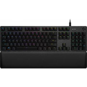 Logitech - G513 Carbon RGB Wired Gaming Mechanical GX Blue Switch Keyboard - Carbon
