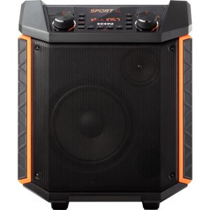 "ION Audio - Sport XL 8"" 2-Way Tailgate Portable PA Speaker - Black"