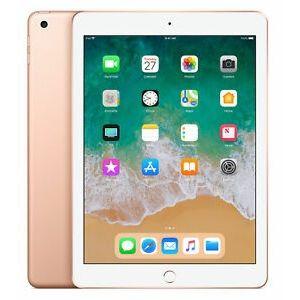 AppIe iPad 9.7in 6th Gen Wi-Fi + 4G 32GB - Gold - Unlocked