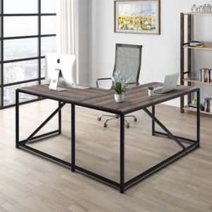 L-Shaped Large Corner PC Laptop Study Table Workstation Gaming Writing Desk for Home Office