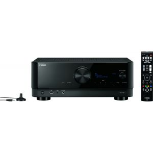Yamaha - RX-V4A 5.2-channel AV Receiver with 8K HDMI and MusicCast - Black