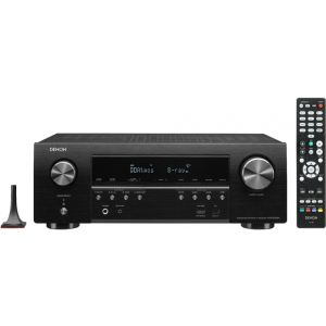 Denon AVR-S750H Receiver, 7.2 Channel (165W x 7) - 4K Ultra HD Home Theater (2019)   Music Streaming - Black