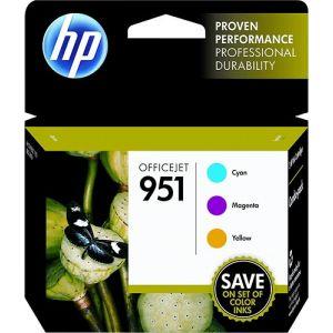 HP - 951 3-Pack - Ink Cartridges - Cyan/Magenta/Yellow