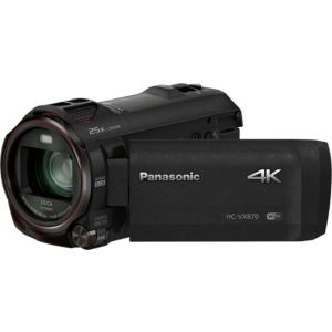 Panasonic - HC-VX870K 4K Ultra HD Flash Memory