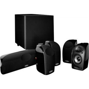 Polk Audio - Blackstone TL1600 5.1-Channel Home Theater Speaker System - Black