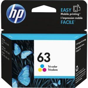 HP-63 Standard Capacity-Tricolor Ink Cartridge- Cyan/Magenta/Yellow