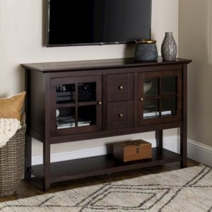 """Walker Edison - Transitional TV Stand / Buffet for TVs up to 55"""""""