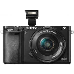 Package Sony Alpha a6000 Mirrorless Camera with16-50mm Retractable