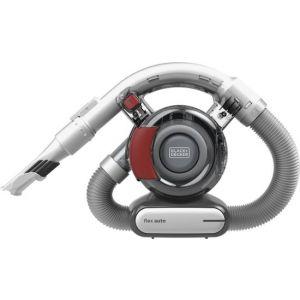 Black+Decker - Flex Automotive Hand Vac - Titanium/Red