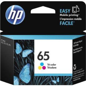 HP - 65 Ink Cartridge - Cyan/ Magenta/ Yellow