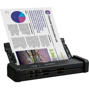 Epson ES-200 Mobile Color Sheetfed Document Duplex Scanner Black