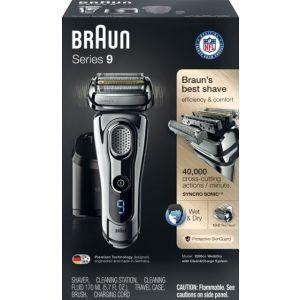 Braun - Series 9 Wet/Dry Electric Shaver - Chrome