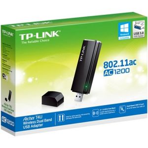 TP-Link - Dual-Band AC USB Network Adapter - Black