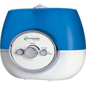 PureGuardian - 1.5 Gal. Ultrasonic Warm/Cool Mist Humidifier - Blue/White