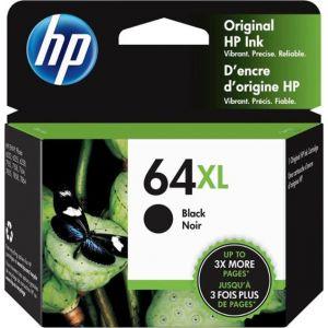 HP - 64XL High-Yield - Black Ink Cartridge - Black