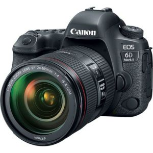 Canon - EOS 6D Mark II DSLR Video Camera with EF 24-105mm f/4L