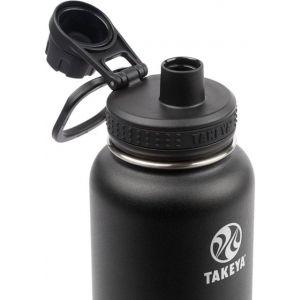 Takeya - Actives 32oz Spout Bottle - Onyx