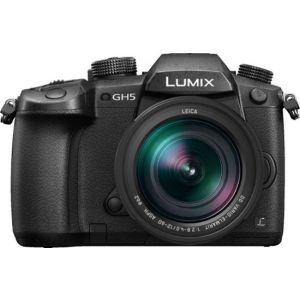 Panasonic - LUMIX GH5 Mirrorless 4K Photo Digital Camera Body