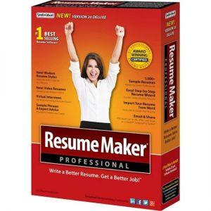 Individual Software - ResumeMaker Professional Deluxe 20 - Windows