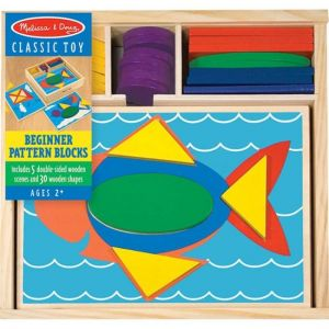 Melissa & Doug - Beginner Pattern Blocks - Multi