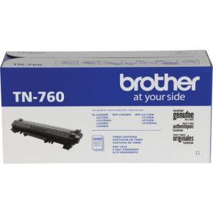 Brother - TN760 XL High-Yield Black Toner Cartridge - Black